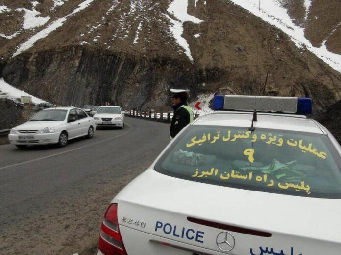 پلیس راهور استان مازندران